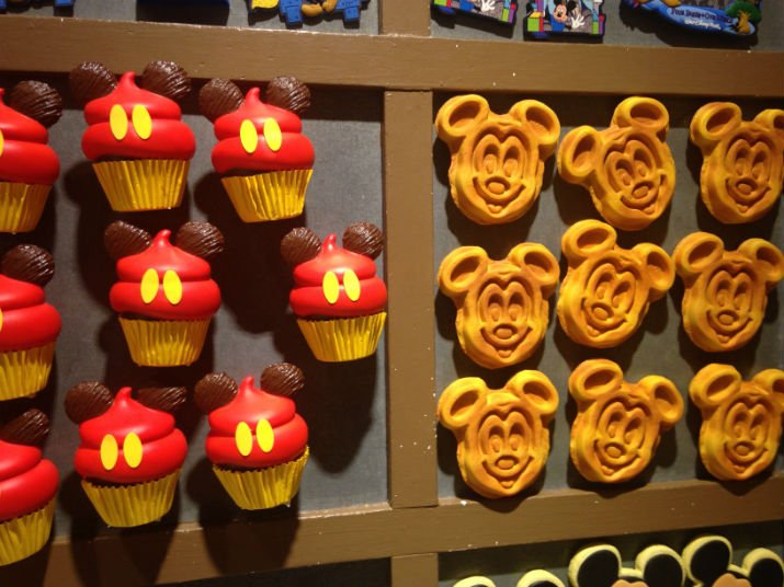 Mickey's Pantry Imãs Mickey