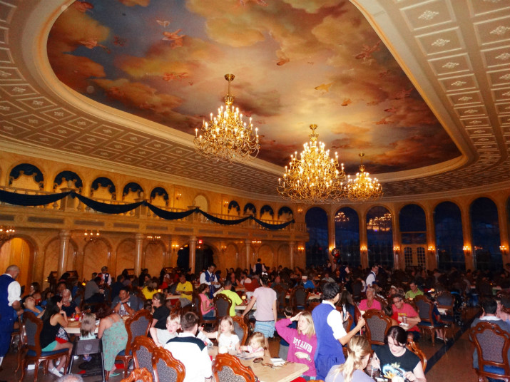 Parques da Disney Restaurante