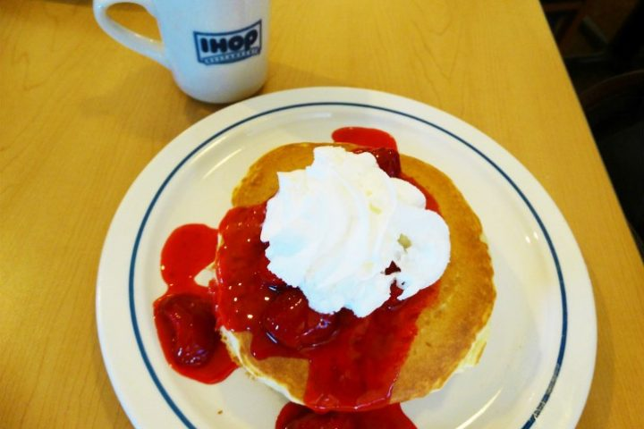 IHOP Orlando – um café da manhã americano