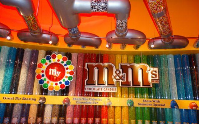 A deliciosa loja do M&M's em Orlando