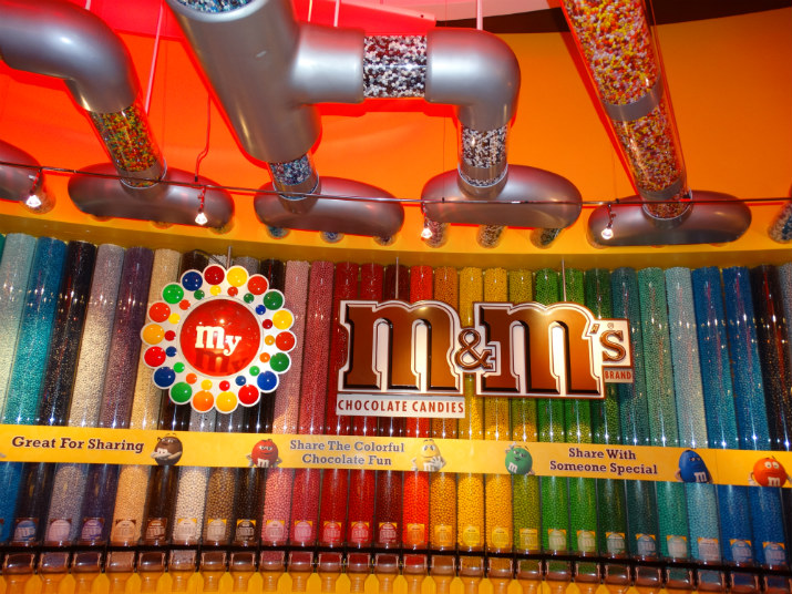 M&M's em Orlando Chocolate