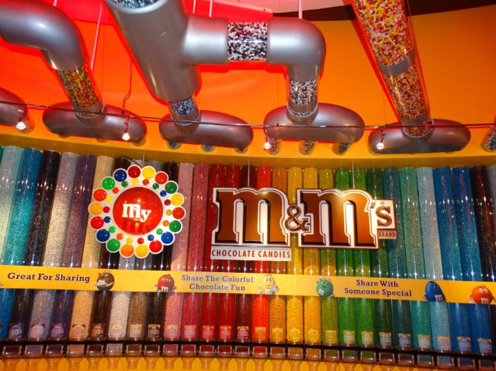 M&M's em Orlando Chocolate