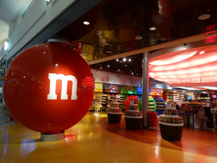 M&M's em Orlando