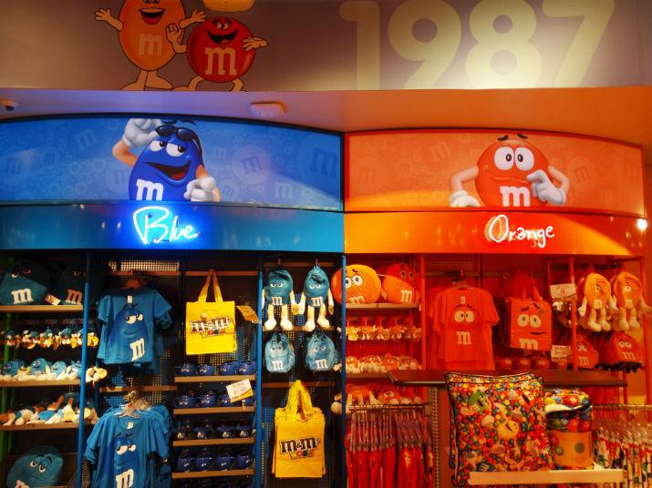 M&M's em Orlando Produtos