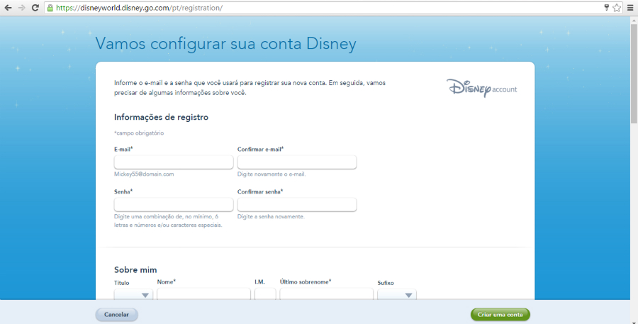My Disney Experience Email