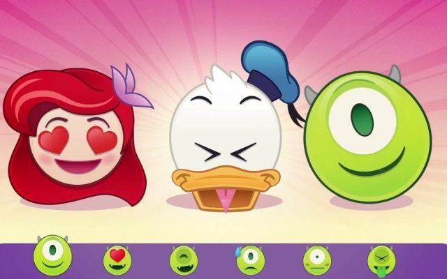 Novos Emojis da Disney