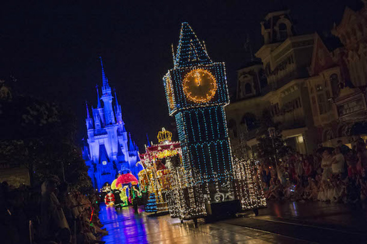 Fim da Main Street Electrical Parade