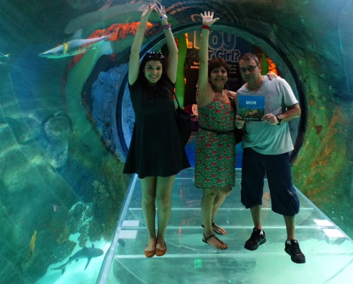 Sea Life Orlando Aquarium Tunel 360