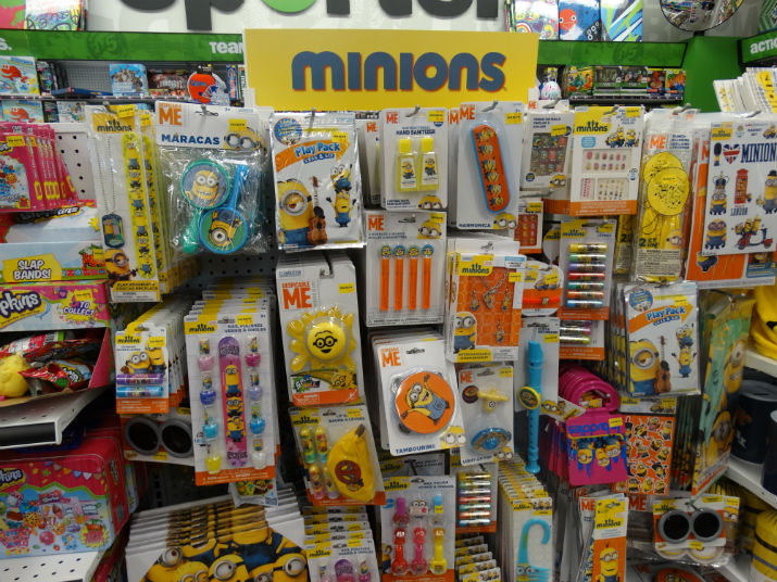 Five Below Minions
