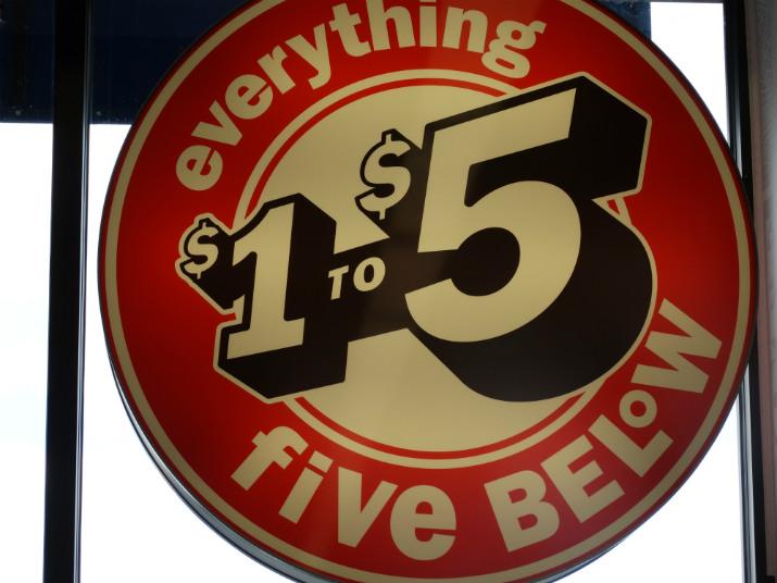 Five Below Preço