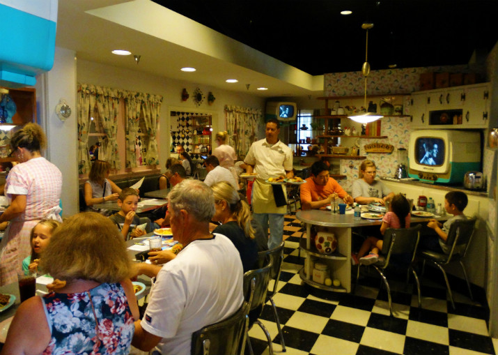 50's Prime Time Cafe Ambiente
