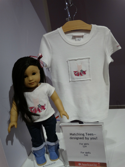 american girl orlando blusa customizada