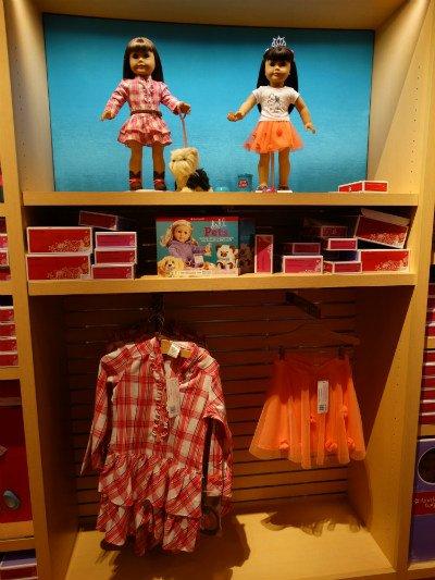 american girl orlando roupas iguais