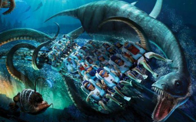 Montanha Russa Kraken ganhará realidade virtual