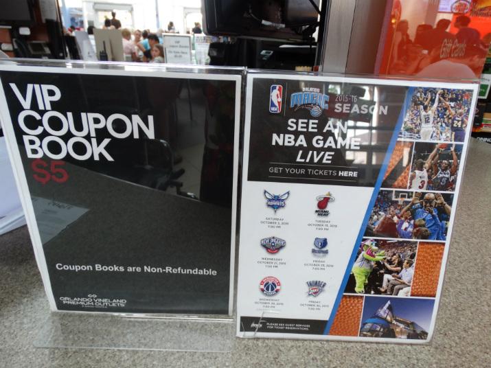 Preço Cupons de desconto Premium Outlets Orlando