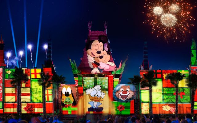 Novo show de Natal no Hollywood Studios