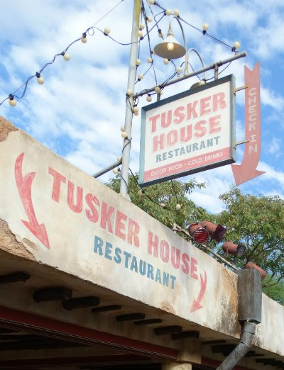 Tusker House Animal Kingdom placa