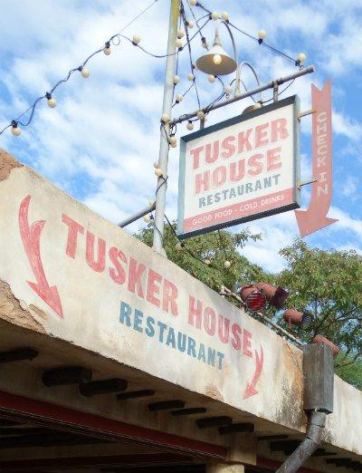 Tusker House Animal Kingdom placa