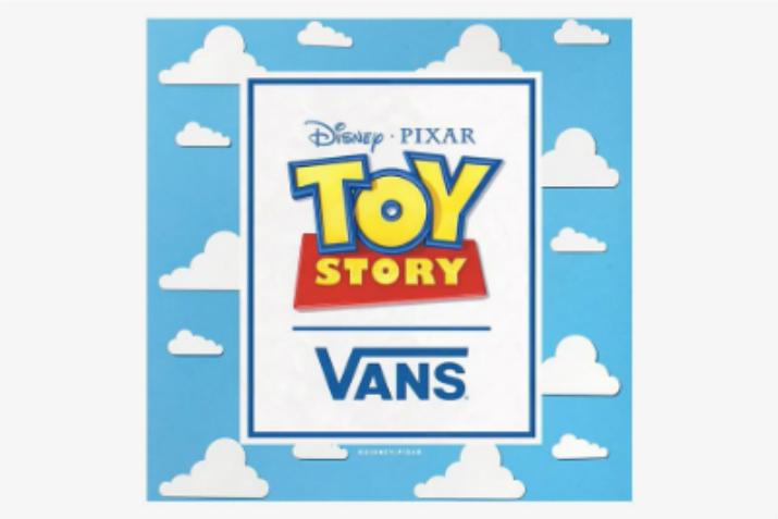 Lançamento Vans Toy Story