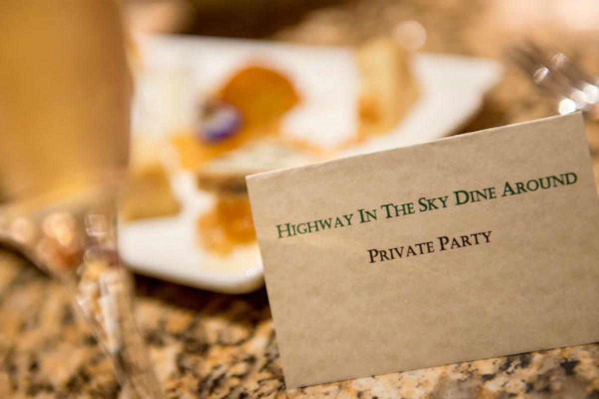 Highway in the Sky — nova refeição da Disney