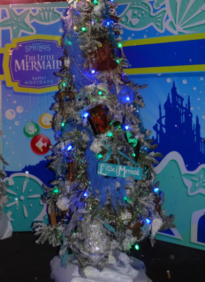 disney_christmas_tree_trail_pequena_sereia