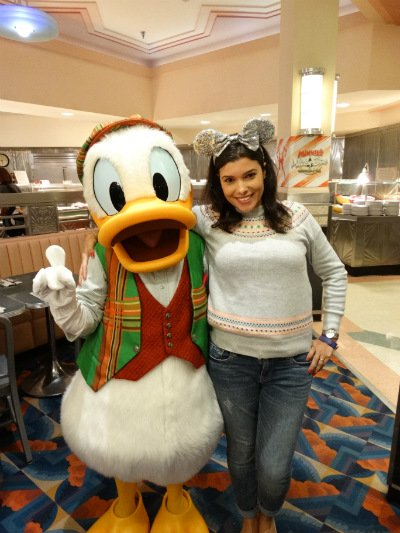 Hollywood & Vine Donald