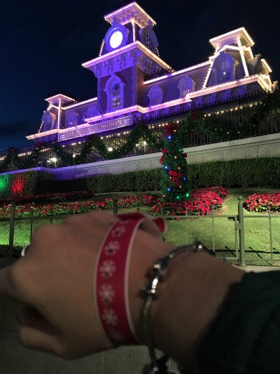 Mickey's Very Merry Christmas Pulseira