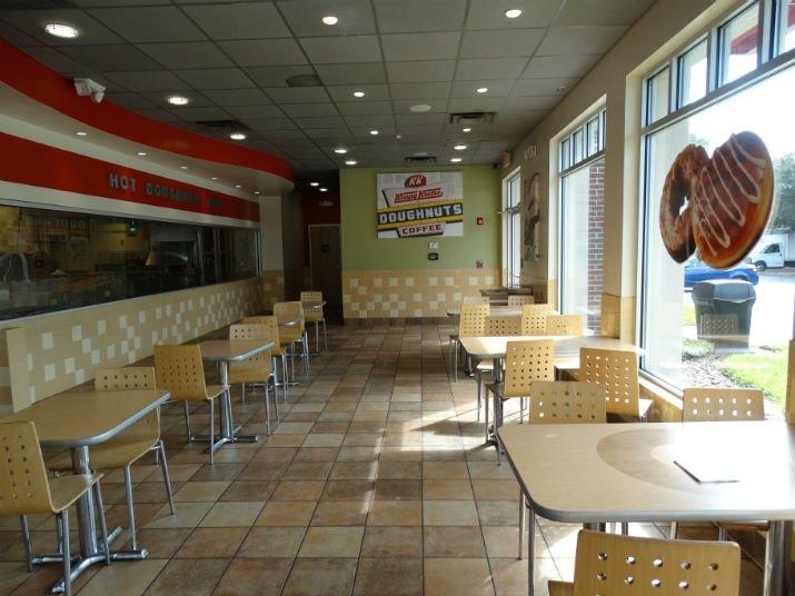 Krispy Kreme Orlando Ambiente