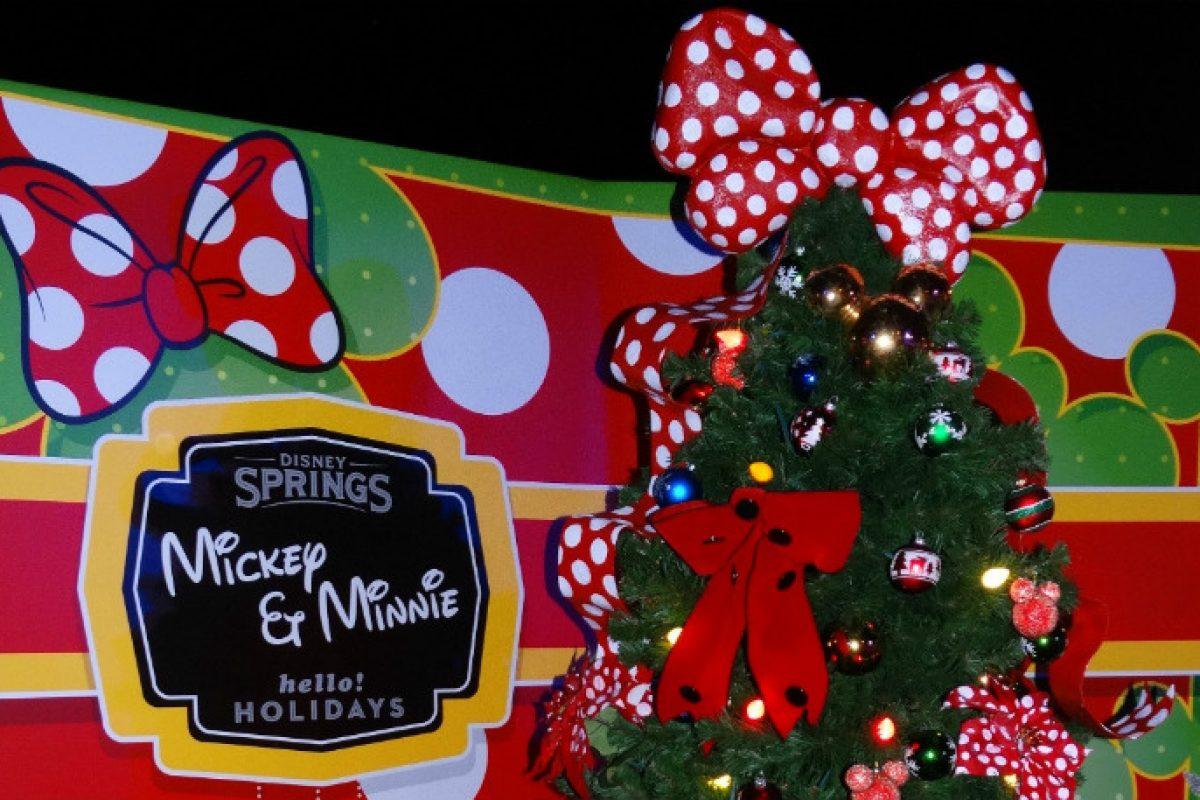 Christmas Tree Trail- Árvores de Natal temáticas da Disney