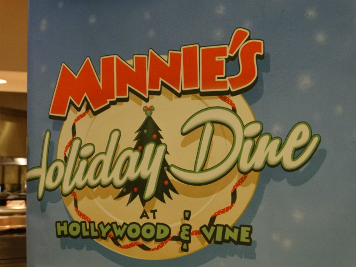 Hollywood & Vine Jantar Minnie