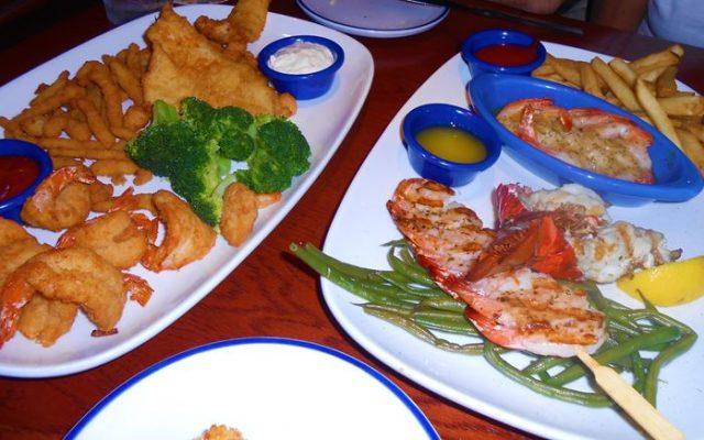Red Lobster Orlando- frutos do mar com ótimo preço
