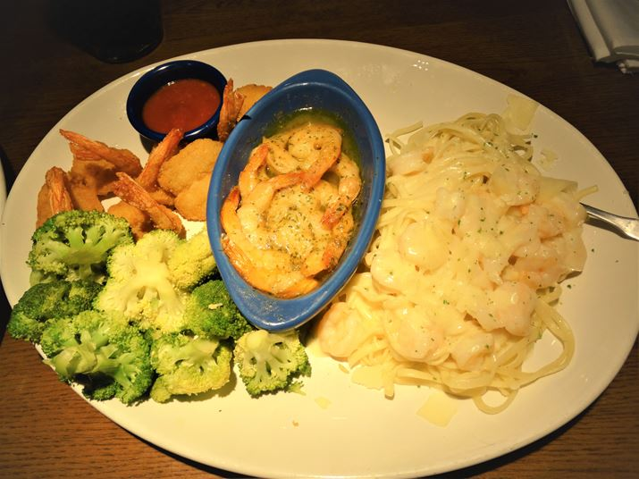 Red Lobster Orlando Camarão