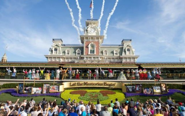 Novo show de abertura do Magic Kingdom