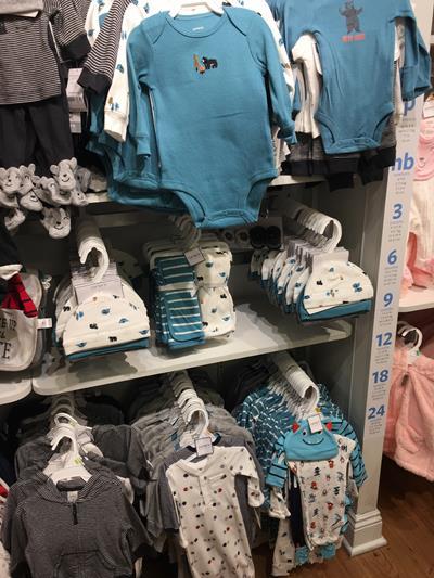 Carter's Enxoval de bebê