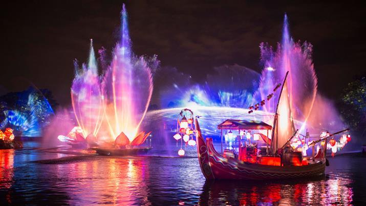 Novidades de Orlando em 2017 Rivers of Light
