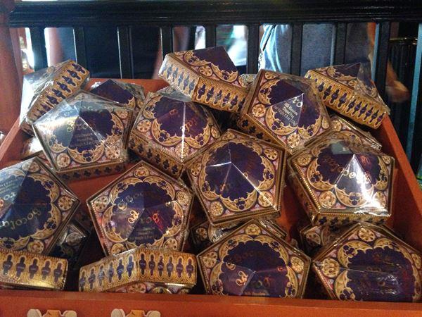 Produtos Harry Potter Sapo de Chocolate