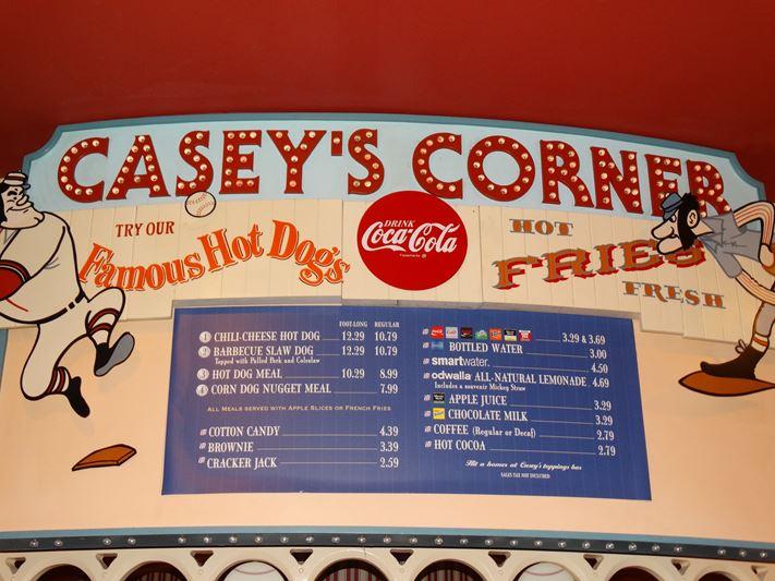 Casey's Corner Preço
