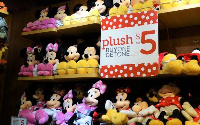 Loja da Disney em Orlando ótima- vá no Florida Mall
