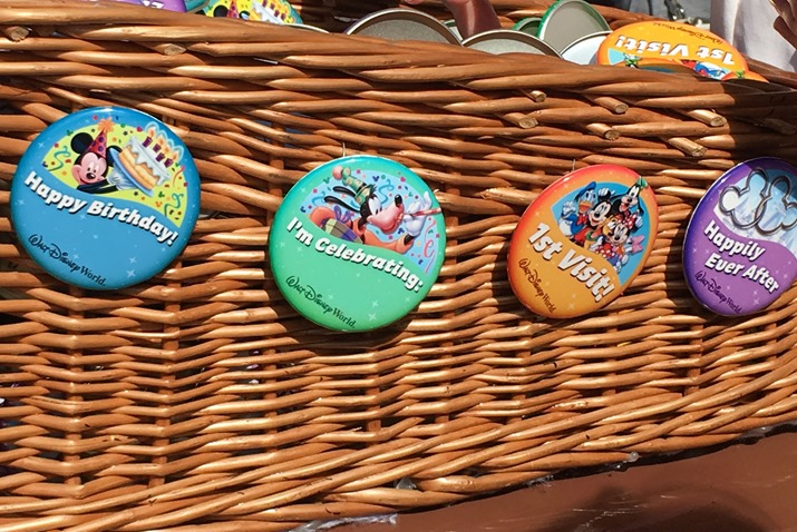 Broches da Disney