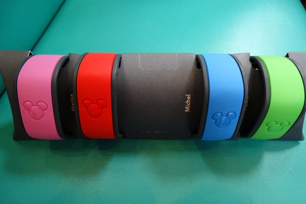 MagicBand — a pulseira da Disney
