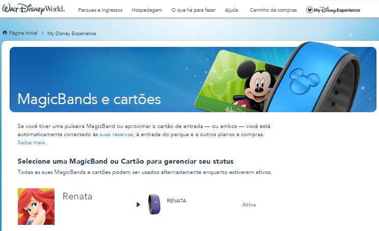 MagicBand My Disney Experience
