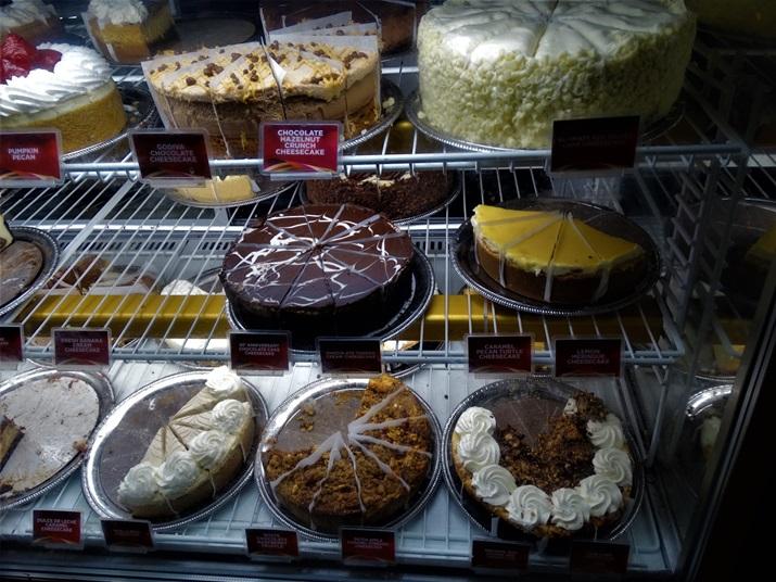 Cheesecake Factory Orlando doce