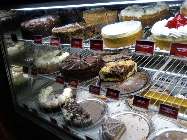 Cheesecake Factory Orlando sobremesa