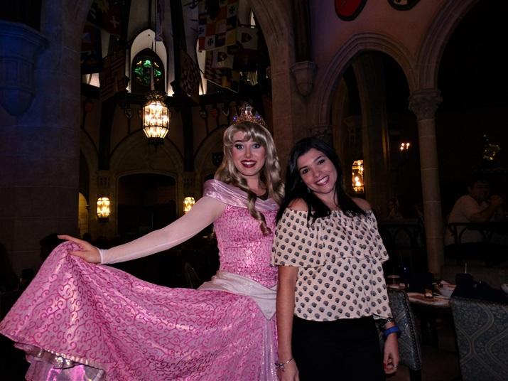 Cinderella's Royal Table Aurora Bela Adormecida