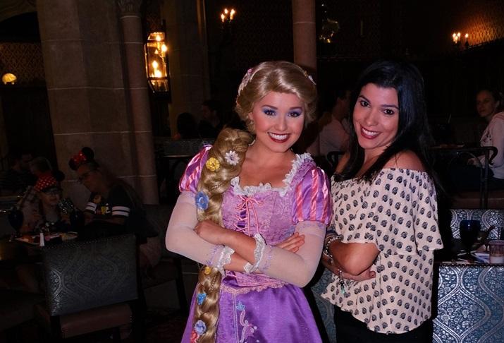 Cinderella's Royal Table Rapunzel