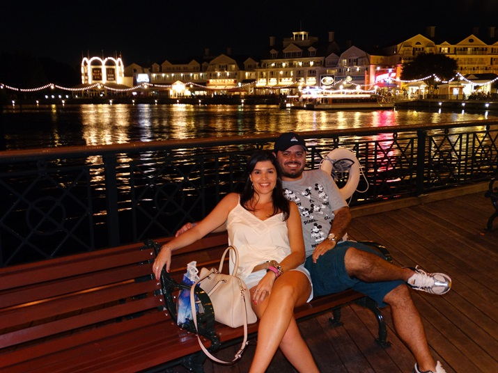 Disney's Boardwalk Noite