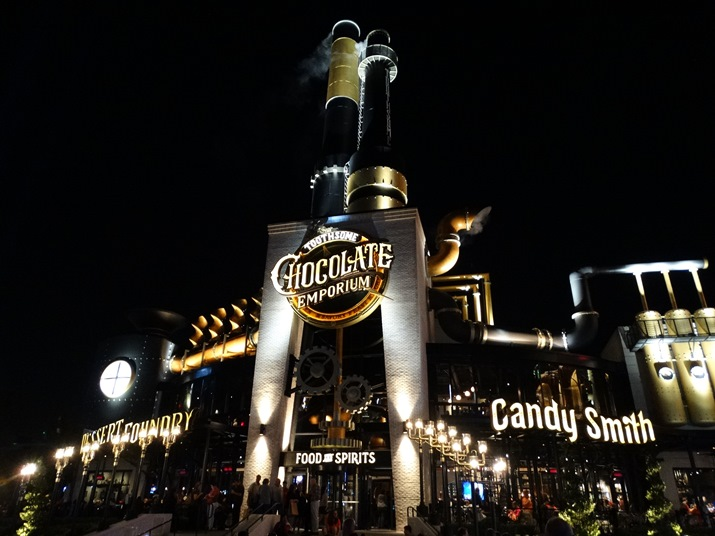 Toothsome Chocolate Emporium Entrada