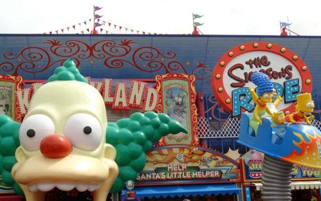 Praça de alimentação dos Simpsons na Universal