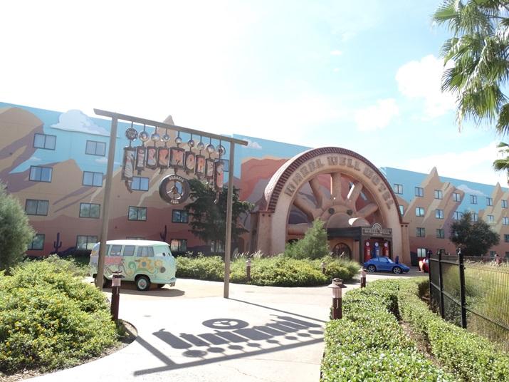 Disney's Art of Animation Area do Carros