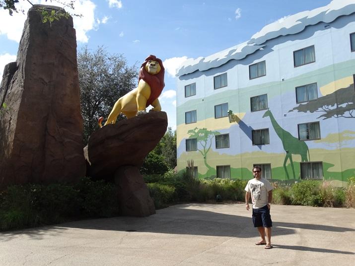 Disney's Art of Animation Quartos Rei Leão
